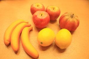 七田式栗東 果物模型