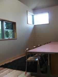 七田式栗東教室のうさぎのお部屋
