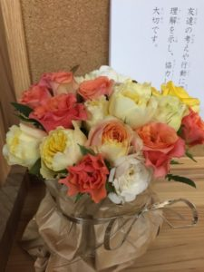 七田式栗東教室 お花