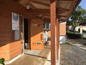 七田式栗東教室の玄関