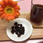 干しブドウとコーボン 小学生コースお茶
